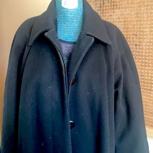 Vintage Christian Dior Wool Coat